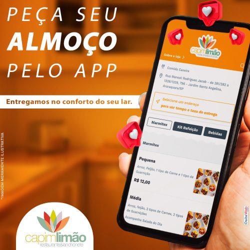 Capim Limão Restaurante - Pedido pelo app